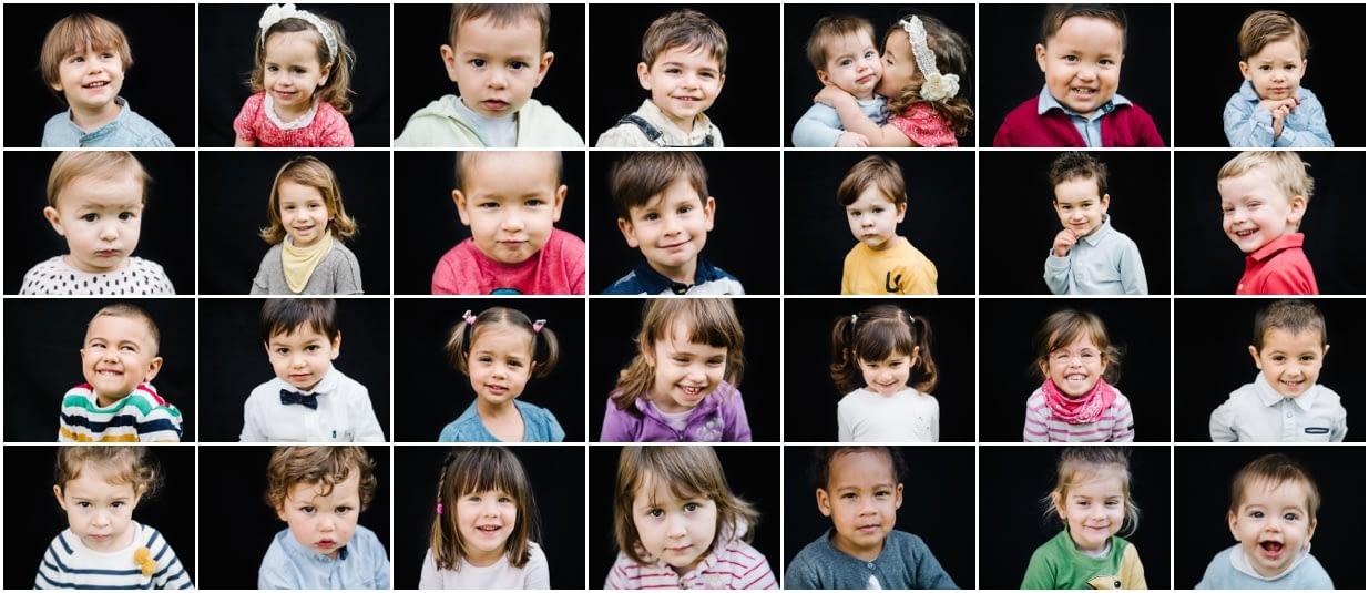 Fine art school portraits - Retratos de escuela