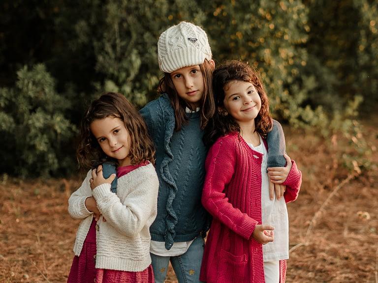 Hermanas. Fotógrafa de familia en Málaga. Patricia Becaroto
