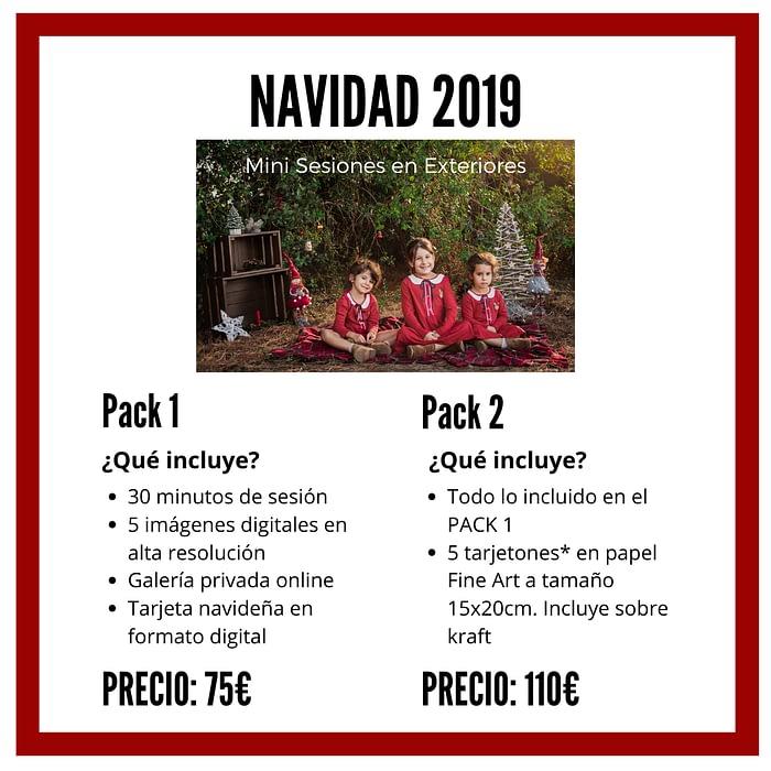 mini sesiones navidad marbella 2019