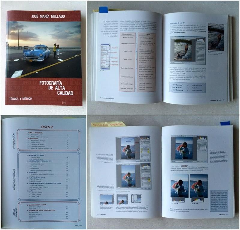 Mi edición del libro es un poco antigua (usa CS4). Mellado está continuamente revisando, actualizando y ampliando la edición de este libro (la más actual es con CS6)