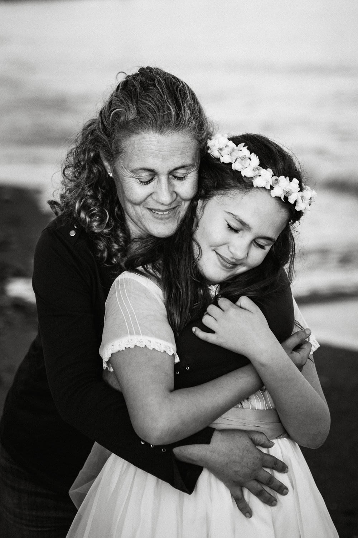 reportaje de comunión en la playa marbella