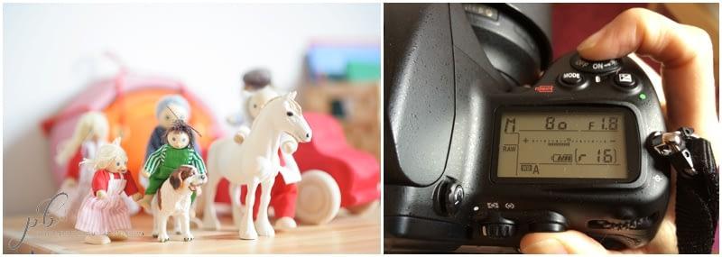 Sobreexposición: midiendo sobre el cuerpo del caballo el exposímetro me indica que estamos sobreexponiendo (demasiada luz)